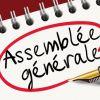 Assemblée générale - 28 octobre