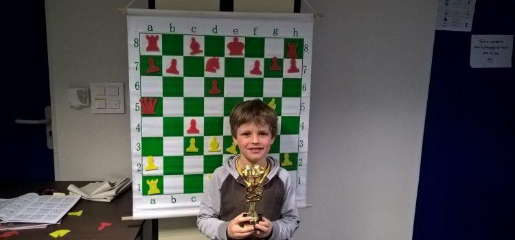 Anton 1er Petit-Poussin au tournoi 4 Saisons de Chêne-Bougeries
