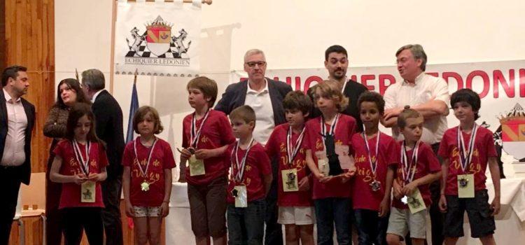 Les jeunes de Veigy en final du championnat de France scolaire d'échecs